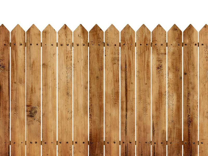 Fence Posts and Fence Boards
